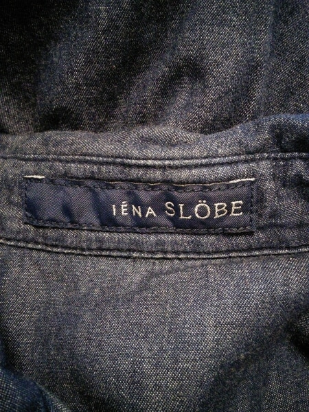 IENA SLOBE(イエナ スローブ) ワンピース レディース ダークネイビー シャツワンピ