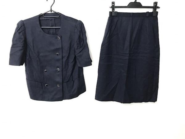 Leilian(レリアン) スカートスーツ サイズ9 M レディース ネイビー