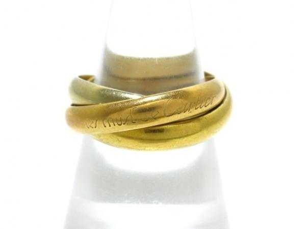Cartier(カルティエ) 3連リング 55 トリニティ K18スリーカラー サイズ:55