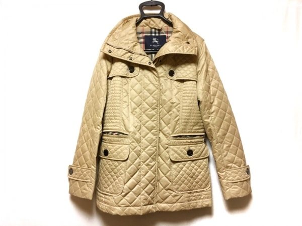 バーバリーロンドン コート サイズ40 L レディース ベージュ キルティング/冬物