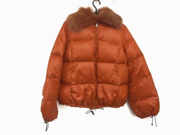 APPENA(アペーナ) コート サイズ38 M レディース美品  オレンジ ショート丈/冬物