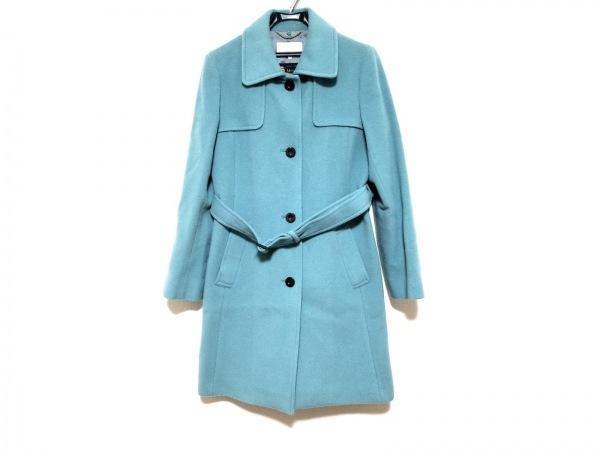 自由区/jiyuku(ジユウク) コート サイズ40 M レディース ライトブルー 冬物