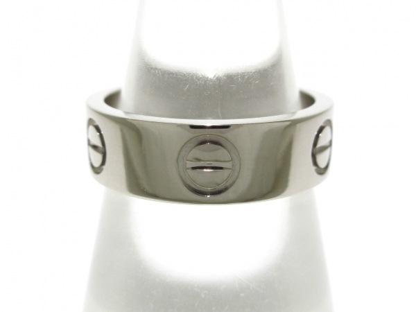 Cartier(カルティエ) リング 50新品同様  ラブ K18WG