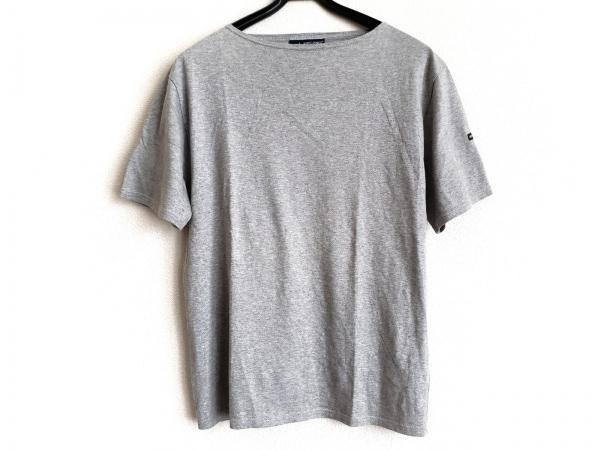 SAINT JAMES(セントジェームス) 半袖Tシャツ サイズML メンズ グレー