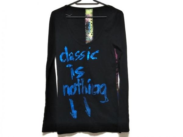 Desigual(デシグアル) チュニック サイズM レディース美品  黒×ブルー