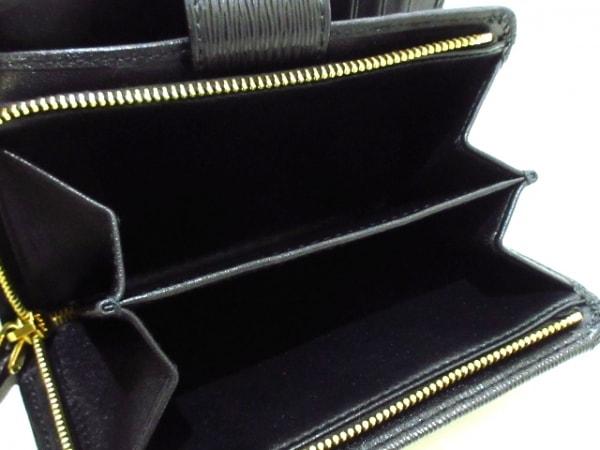 PRADA(プラダ) 2つ折り財布美品  - 黒 L字ファスナー レザー