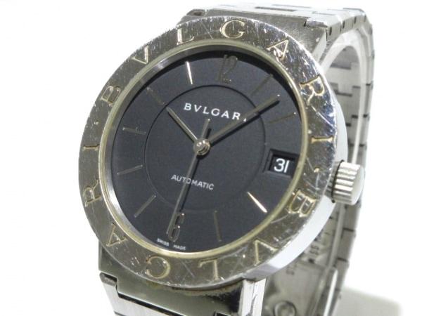 BVLGARI(ブルガリ) 腕時計 ブルガリブルガリ BB33SS メンズ 黒