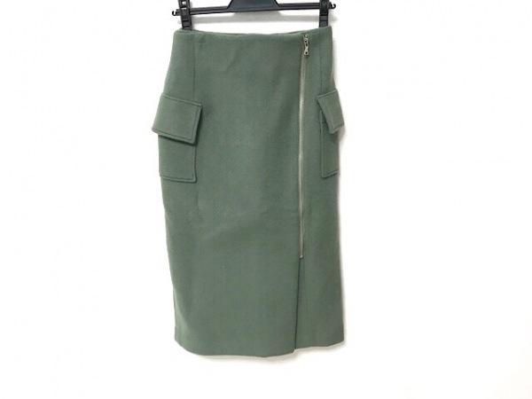 CLANE(クラネ) ロングスカート サイズ36 S レディース グリーン
