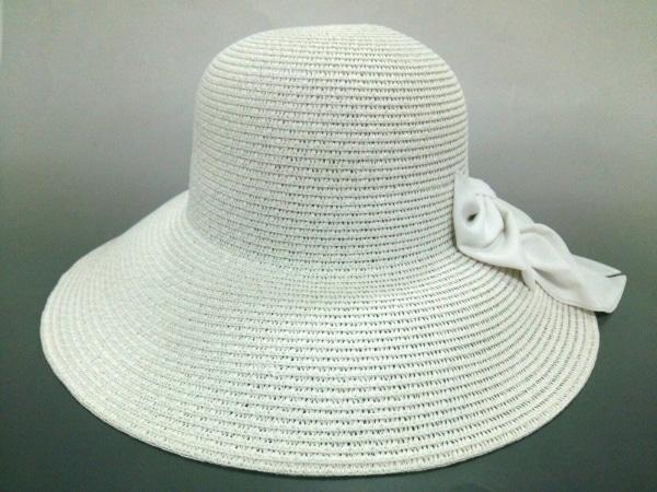 Rady(レディ) 帽子新品同様  白 指定外繊維(ペーパー)