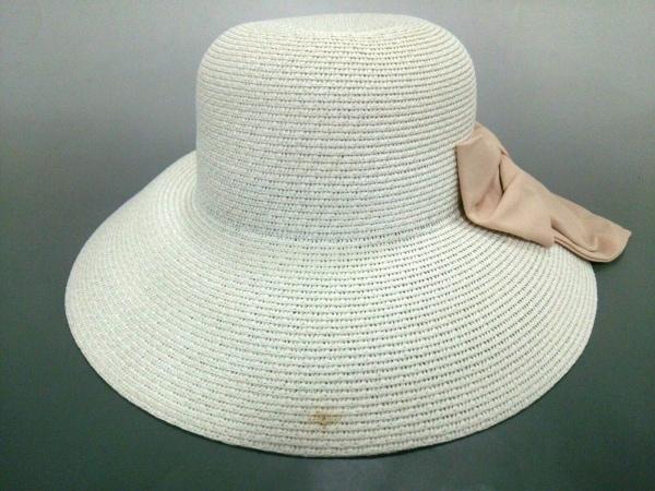 Rady(レディ) 帽子美品  白 指定外繊維(ペーパー)