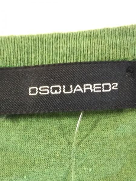 DSQUARED2(ディースクエアード) 半袖カットソー サイズM レディース ライトグリーン