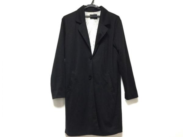 MURUA(ムルーア) ジャケット サイズF レディース 黒 ロング 1