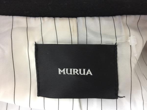 MURUA(ムルーア) ジャケット サイズF レディース 黒 ロング 3