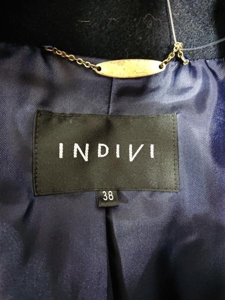 INDIVI(インディビ) コート サイズ38 M レディース ダークネイビー 3