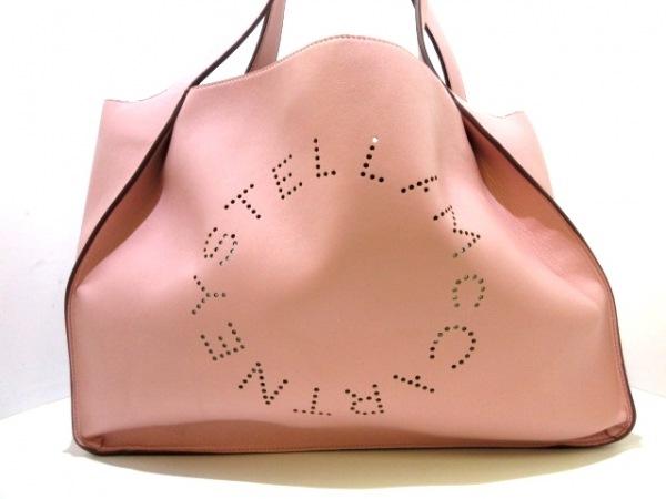 ステラマッカートニー トートバッグ ステラ ロゴ トート バッグ 502793W9923 ピンク