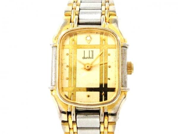 dunhill/ALFREDDUNHILL(ダンヒル) 腕時計 - レディース ゴールド