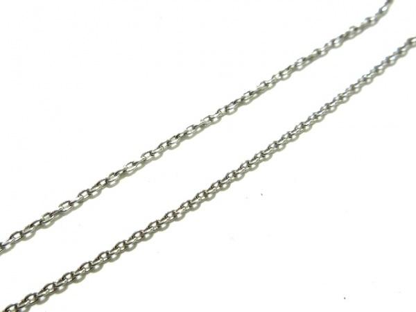 STAR JEWELRY(スタージュエリー) ネックレス美品  K18WG×ルビー 0.25カラット/ハート