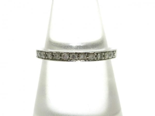 4℃(ヨンドシー) リング美品  Pt950×ダイヤモンド
