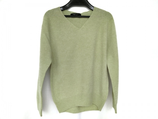 ジャスグリッティー 長袖セーター サイズ2 M レディース新品同様  ライトグリーン