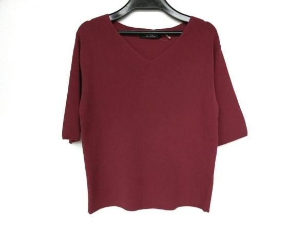JUSGLITTY(ジャスグリッティー) セーター サイズ2 M レディース新品同様  ボルドー