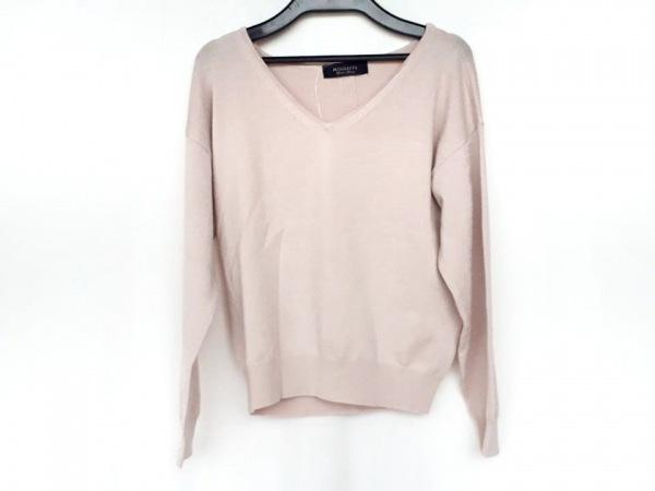 ジャスグリッティー 長袖セーター サイズ2 M レディース新品同様  ピンク ビジュー