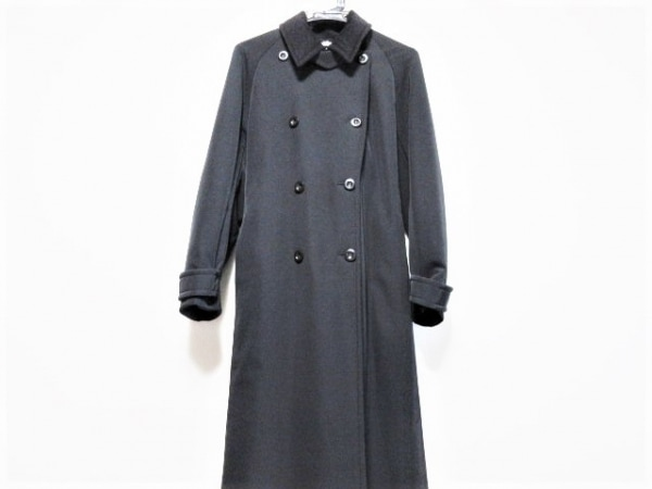 Max Mara(マックスマーラ) コート サイズI38 レディース 黒 袖のみ内綿入り/冬物