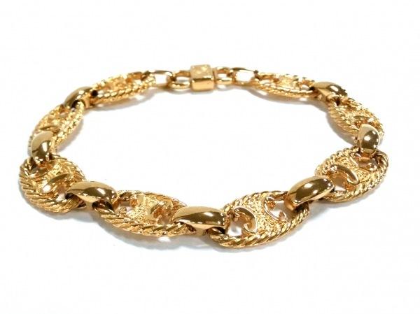 CELINE(セリーヌ) ブレスレット美品  金属素材 ゴールド