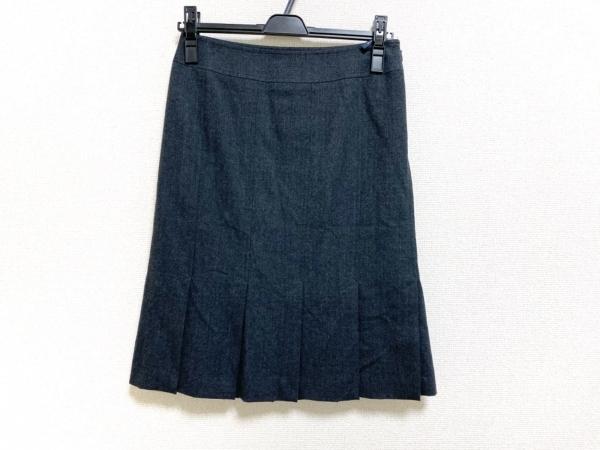 バーバリーロンドン スカート サイズ36 M レディース美品  ダークグレー