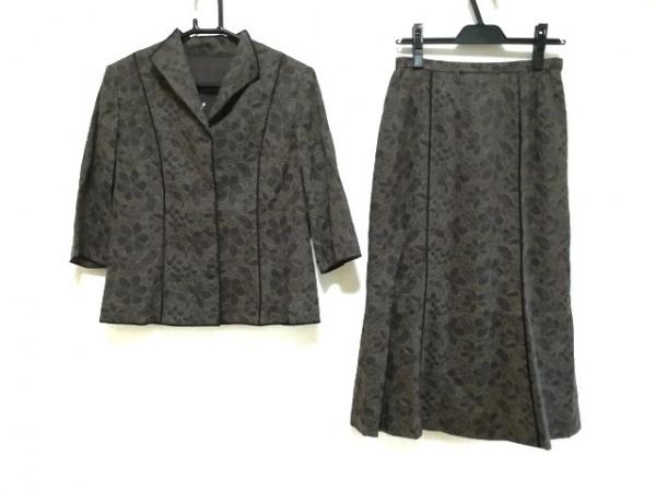 Leilian(レリアン) スカートスーツ サイズ11 M レディース新品同様  花柄/刺繍