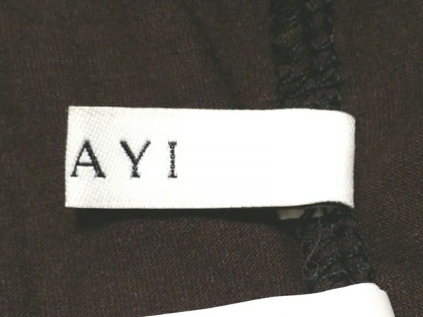 ANAYI(アナイ) ノースリーブカットソー サイズ38 M レディース美品  黒 レース