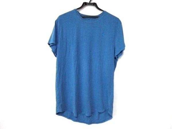 G-STAR RAW(ジースターロゥ) 半袖Tシャツ サイズM メンズ ブルー