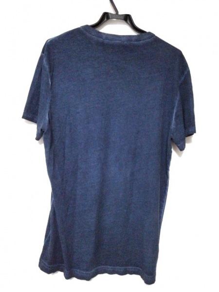G-STAR RAW(ジースターロゥ) 半袖Tシャツ サイズM メンズ美品  ネイビー×黒