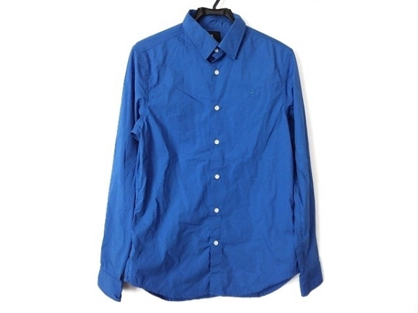 G-STAR RAW(ジースターロゥ) 長袖シャツ サイズM メンズ美品  ブルー