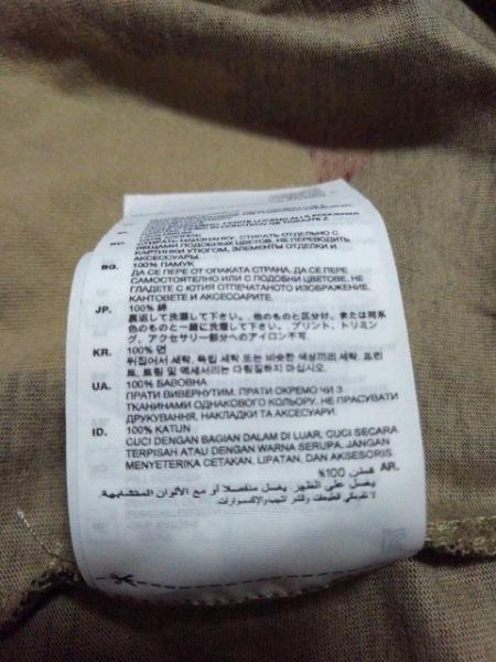 ジースターロゥ 半袖Tシャツ サイズM メンズ美品  レッド×黒×マルチ 迷彩柄