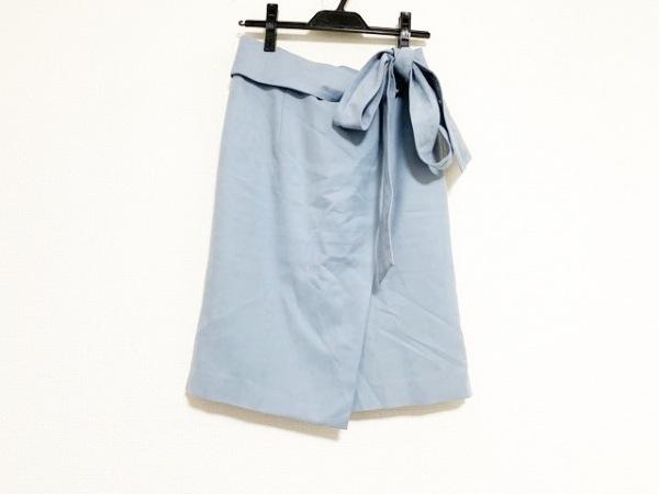 JUSGLITTY(ジャスグリッティー) スカート サイズ2 M レディース美品  ライトブルー