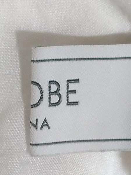 IENA SLOBE(イエナ スローブ) チュニック レディース 白×黒 花柄/刺繍