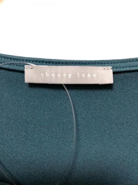 theory luxe(セオリーリュクス) チュニック サイズ38 M レディース美品  グリーン