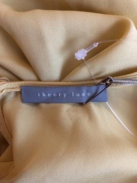 theory luxe(セオリーリュクス) チュニック サイズ38 M レディース美品  イエロー