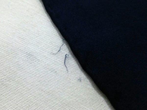 MOSCHINO(モスキーノ) スカーフ ネイビー×マルチ