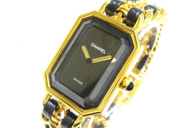 CHANEL(シャネル) 腕時計 プルミエール - レディース サイズ:M 黒