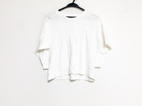 TOGA PULLA(トーガプルラ) 半袖Tシャツ サイズ38 M レディース美品  白