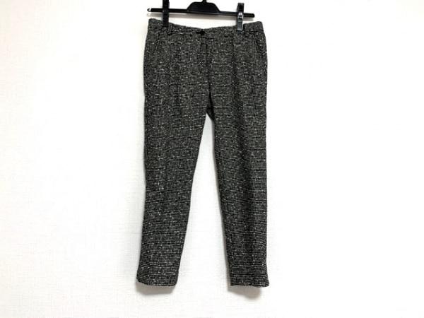 INCOTEX(インコテックス) パンツ サイズ38 M レディース 黒×白