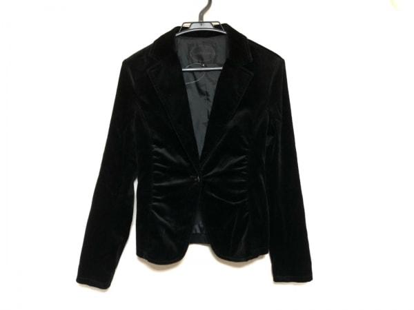UNTITLED(アンタイトル) ジャケット サイズ2 M レディース美品  黒 ベロア