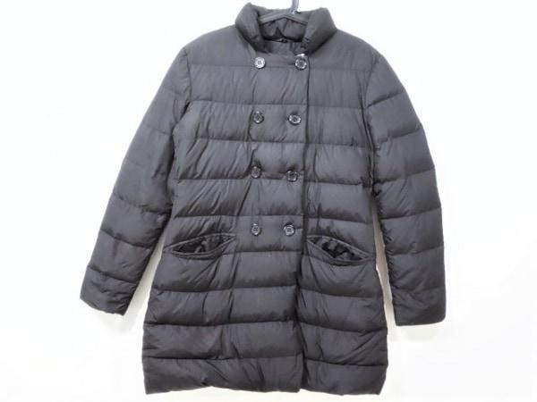 add(アッド・エーディーディー) ダウンコート サイズ48 XL レディース - - 黒 長袖/冬
