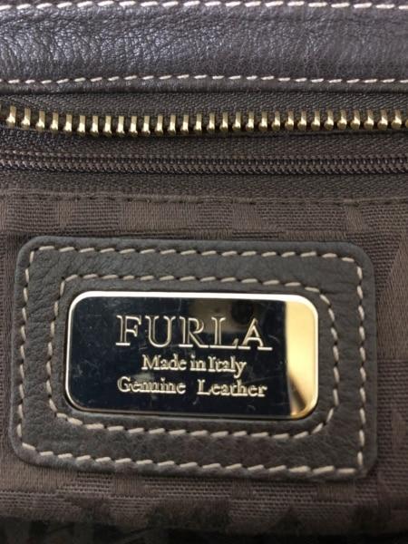 FURLA(フルラ) ショルダーバッグ ダークブラウン レザー
