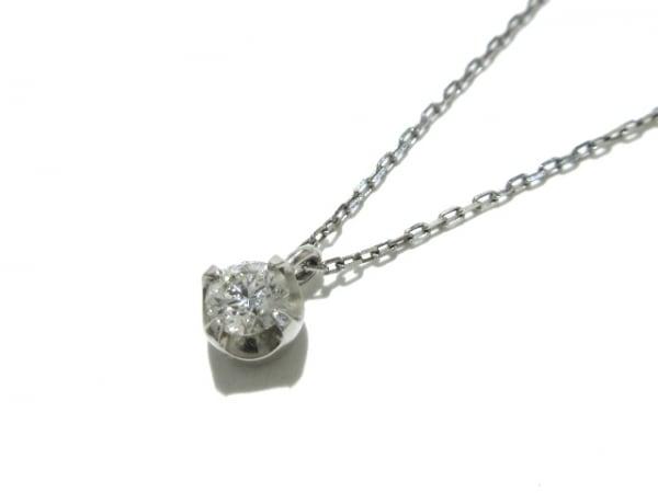 4℃(ヨンドシー) ネックレス Pt850×ダイヤモンド 0.205カラット