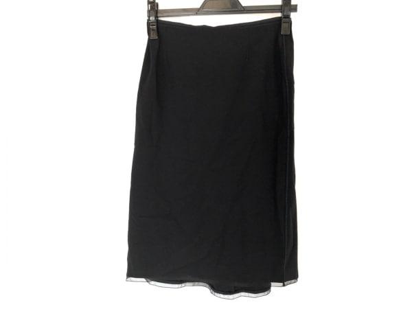 ANNA MOLINARI(アンナモリナーリ) スカート レディース美品  黒
