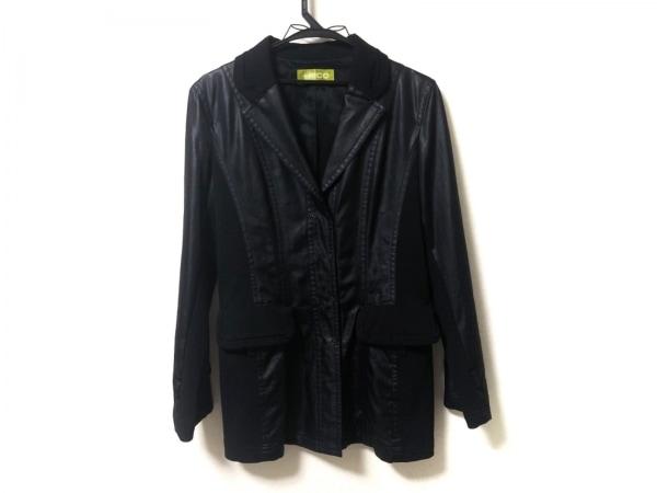 +RICO HIROKOBIS(リコヒロコビス) コート サイズ11 M レディース美品  黒