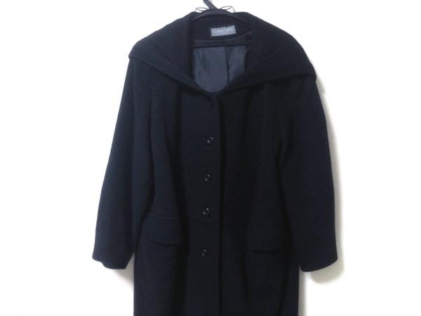 ALBINO(アルビーノ) コート サイズ38 M レディース美品  黒 冬物/LA MODA ALBINO