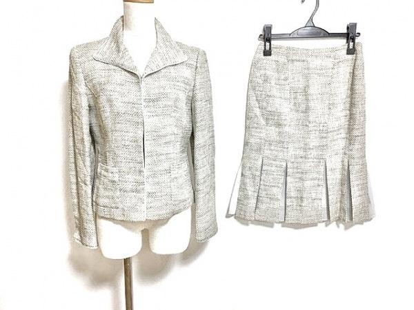 自由区/jiyuku(ジユウク) スカートスーツ サイズ38 M レディース美品  アイボリー